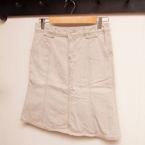 American Eagle Khaki Skirt